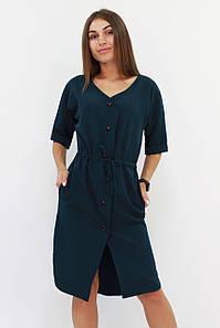 S, M, L   Женское повседневное зеленое платье Elison