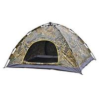 Палатка 4-местная автоматическая Камуфляж | Палатка-автомат Хаки, фото 1