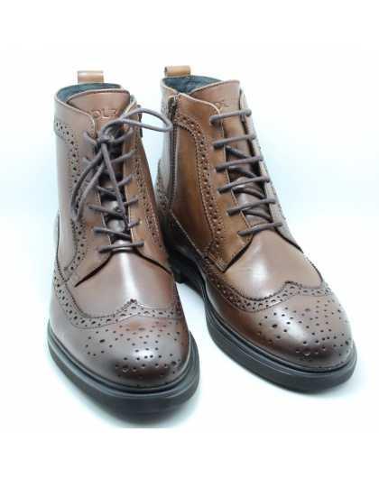 Мужские ботинки броги Badura 5272-W-913 коричневые