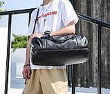 Мужская сумка черная, фото 7