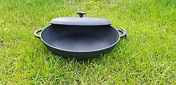 Сковорода жаровня с крышкой (d=340мм, h=70мм), фото 3