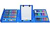Набор для детского творчества в чемодане из 208 пр. Синий | Набор для рисования Чемоданчик юного художника, фото 4