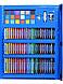 Набор для детского творчества в чемодане из 208 пр. Синий | Набор для рисования Чемоданчик юного художника, фото 6