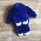 Детская сумка рюкзак меховой заяц, фото 8