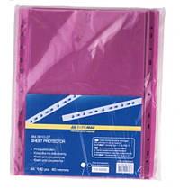 Файл BUROMAX А4 3810-07 PROFESSIONAL (100шт) 40мкм ФИОЛЕТОВЫЙ (1/40)