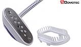 Отпариватель DOMOTEC MS-5351 ручной вертикальный для одежды | Пароочиститель | Паровой утюг, фото 4