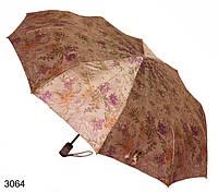 Зонт женский автомат коричневый, фото 1