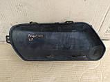 Накладка молдинг  переднего бампера левая Peugeot 307 9653583477, фото 3