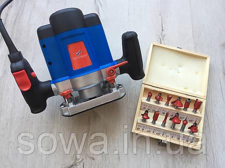 ✔️ Фрезер ГОРИЗОНТ МФ-1550 + набор фрез в комплекте | 1550 Вт, фото 2