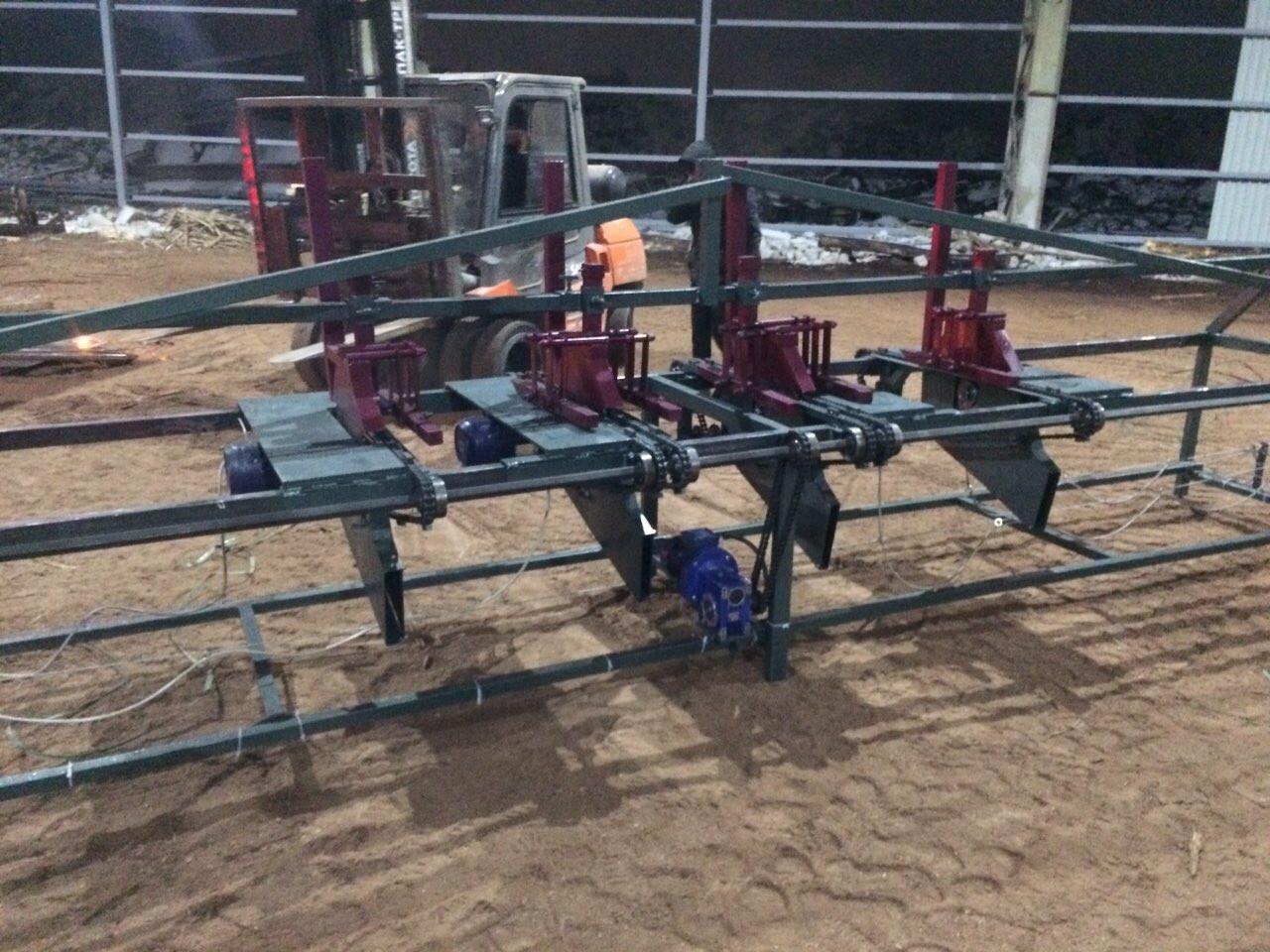 Торцовочный станок (мультиторцовка) 3 пильных узла АТП-3-2,2-4