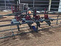 Торцовочный станок (мультиторцовка) 3 пильных узла АТП-3-2,2-4, фото 1