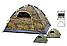Палатка 4-местная автоматическая Камуфляж | Палатка-автомат Хаки, фото 2