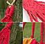 Гамак гавайский оранжевый   Гамак-качели подвесной хлопок, фото 4
