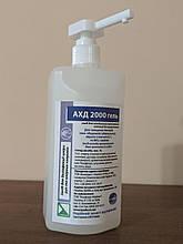 Засіб для дезінфекції шкіри рук АХД 2000 гель, 500мл.