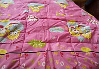 Одеяло стеганое, силиконовое, детское 100/140