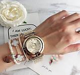 Стильные женские часы Pandora реплика Золото, фото 2