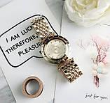Стильные женские часы Pandora реплика Золото, фото 3