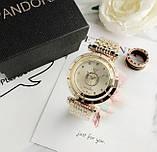 Стильные женские часы Pandora реплика Золото, фото 4