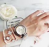 Стильные женские часы Pandora реплика Золото с серебром, фото 2
