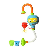 Игрушка для ванной  на присоске Робот-водопад