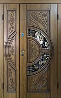 Вхідні двері патина+Vinorit З доставка на адресу! С-5-1 1200*2050 права