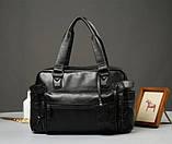 Кожаная мужская сумка Экокожа, фото 3