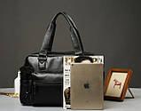 Кожаная мужская сумка Экокожа, фото 4