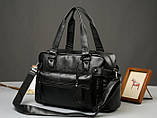 Кожаная мужская сумка Экокожа, фото 6