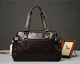 Кожаная мужская сумка Экокожа, фото 7