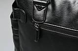 Кожаная мужская сумка Экокожа, фото 9