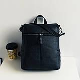 Модная женская сумка рюкзак трансформер, фото 2