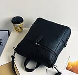 Модная женская сумка рюкзак трансформер, фото 5