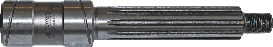 Вал проміжної опори карданног вала МТЗ-8272-2209013, фото 2