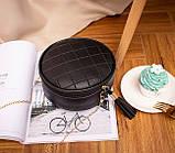 Маленькая женская круглая сумка, фото 6