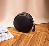 Маленькая женская круглая сумка, фото 7