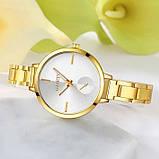 Наручные женские часы браслет Золото, фото 2