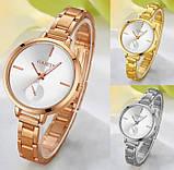Наручные женские часы браслет Золото, фото 3