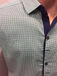 Рубашка мужская с коротким рукавом L, фото 2