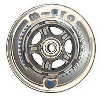 Колесо заднее прозрачное 100 мм для самоката Micro Sprite, Light, Kickboard Original