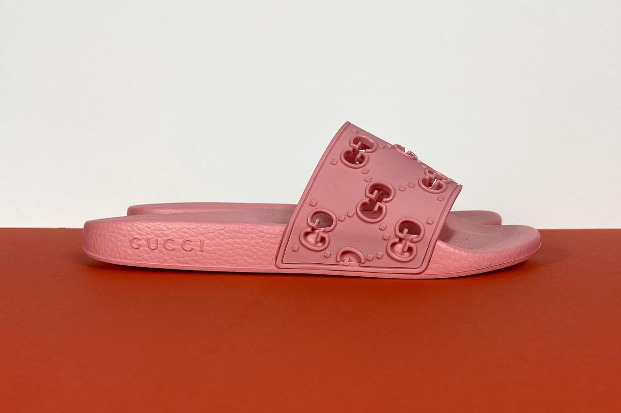 Шлепанцы женские GG Gucci (Гуччи) арт. 56-59