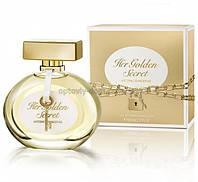 Женская Туалетная вода  (лицензия) лицензия ОАЭлицензия ОАЭAntonio Banderas Her Golden Secret (80 ml)