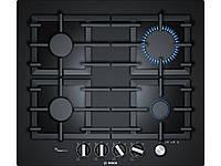 Варочная поверхность Bosch PPP6A6M90R (газ контроль, электроподжиг, чугунная решетка)