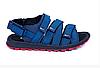 Мужские кожаные сандалии Nike Summer life 435 blue синие