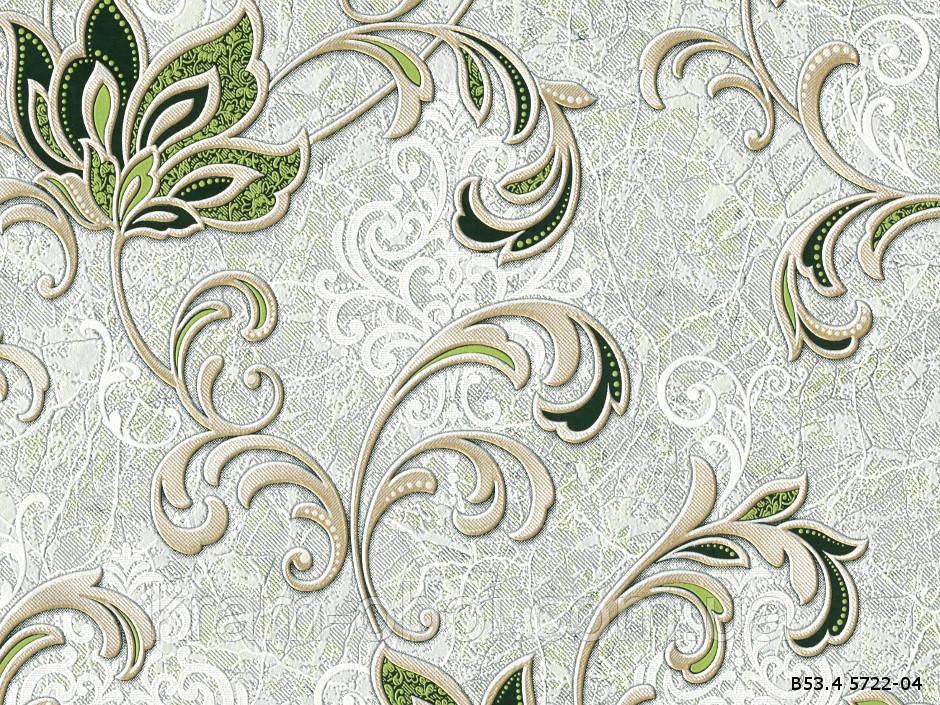 Шпалери Слов'янські Шпалери КФТБ вінілові на паперовій основі 10 м*0,53 9В53 Аврора 5722-04