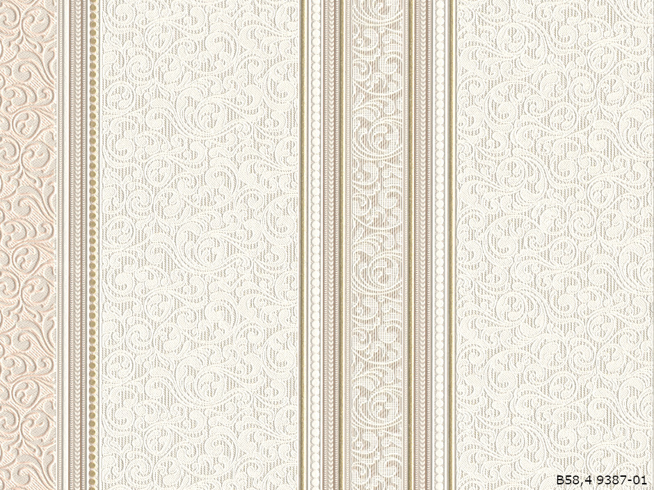 Шпалери Слов'янські Шпалери КФТБ вінілові на паперовій основі 10 м*0,53 9В58 Вояж 2 9387-01