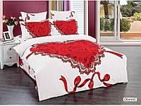 Полуторное постельное белье  Arya сатин 70х70  Deanna