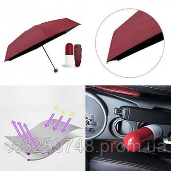 Мини-зонт в капсуле Capsule Umbrella mini Красный, фото 2