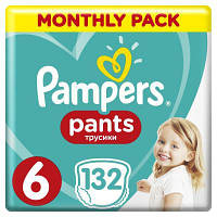 Підгузок Pampers Pants Extra Large Розмір 6 (15+ кг) 132 (8001090808080)
