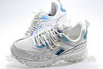 Женские белые кроссовки на высокой подошве Baas 2020, фото 2