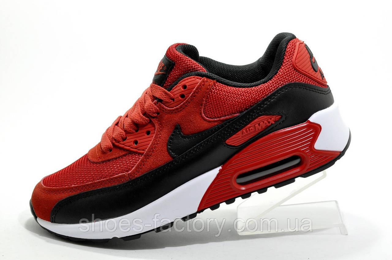 Кроссовки унисекс в стиле Nike Air Max 90, Red\Красные
